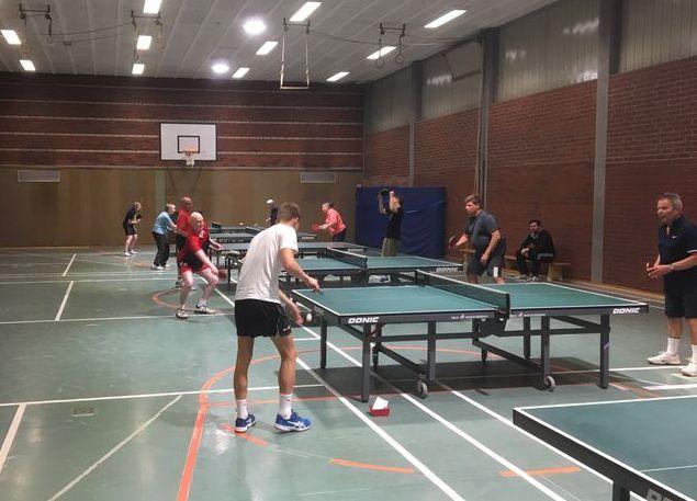 Tischtennis Training beim TTC